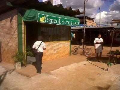 Imagem do banco comunitário Estrutural
