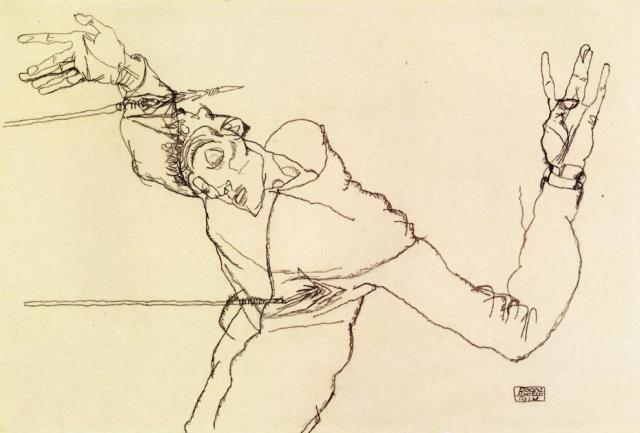 self-portrait-as-st-sebastian-1914
